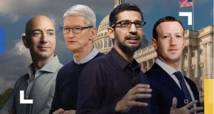 محاكمة الأباطرة.. لماذا قرّر الكونغرس الأميركي استجواب أمازون وفيسبوك وغوغل وأبل؟