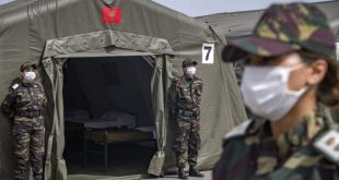 المستشفى العسكري الميداني المغربي ببيروت أصبح جاهزاً لاستقبال الحالات المصابة جراء انفجار بيروت الضخم …