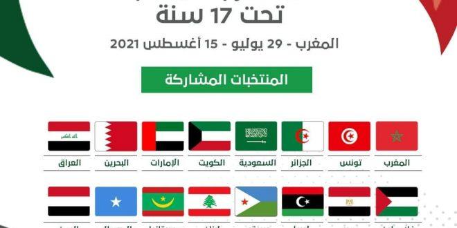 """الاتحاد العربي"""" يتأهب لإقامة """"كأس العرب للناشئين"""" لأقل من17 سنة في المغرب بعد إجراء قرعتها بالقاهرة …"""
